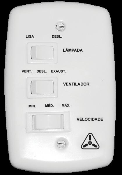 CONTROLE DE VELOCIDADE CAPACITATIVO ( VENT. TETO)- VENTIDELTA – cód. 99