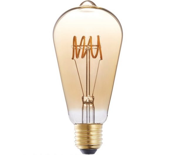 LÂMPADA FILAMENTO LED VINTAGE LOOP – BRILIA – 4,5W
